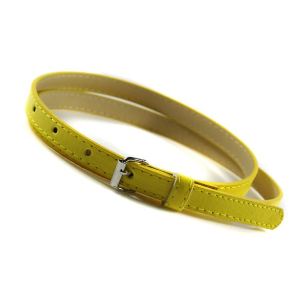 Multicolor Thin Belt