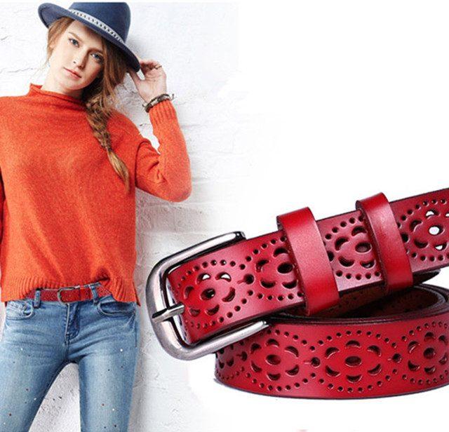 Fashion Wide Woman Belt