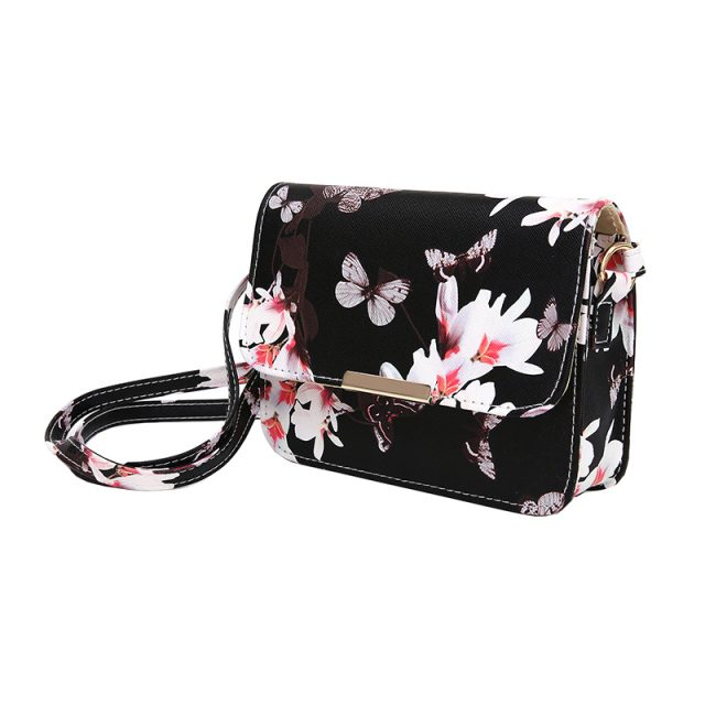 Luxury Small Bag With Flower/Butterfly