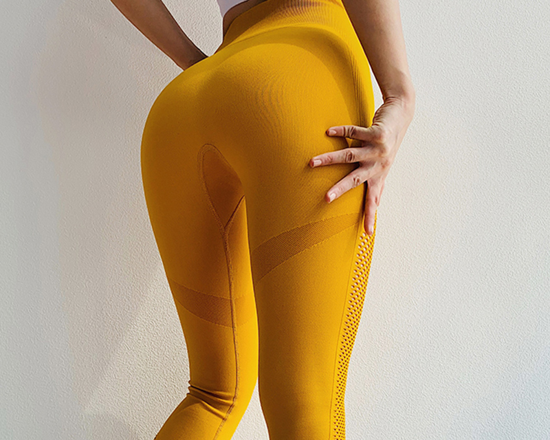 Seamless Tummy Control Stretchy Leggings