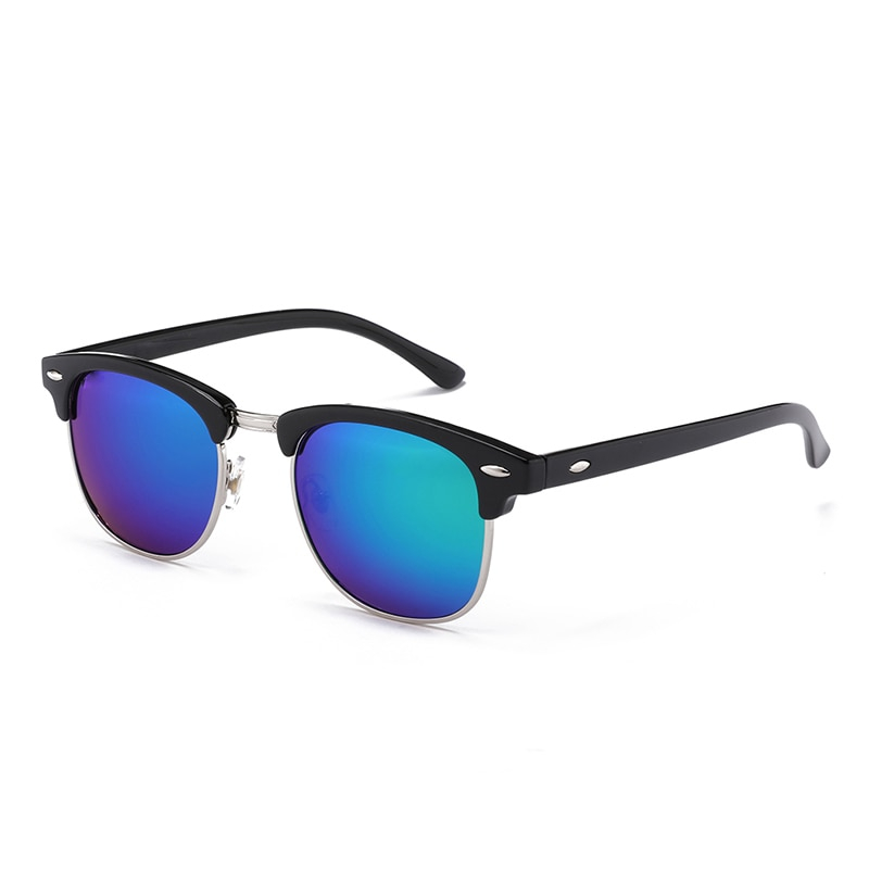 New Fashion  Semi Rimless Polarized Sunglasses