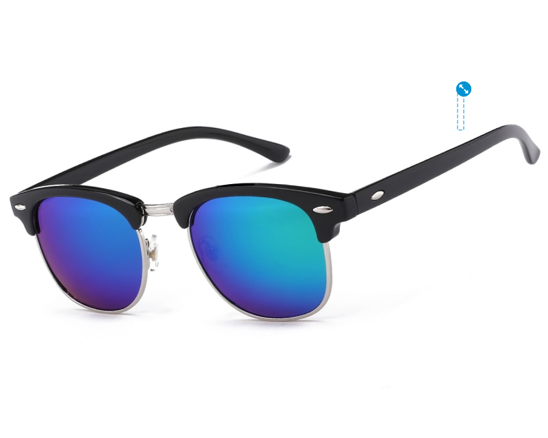 Half Metal High Quality Sunglasses
