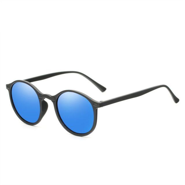 Men Women Round Goggles Glasses