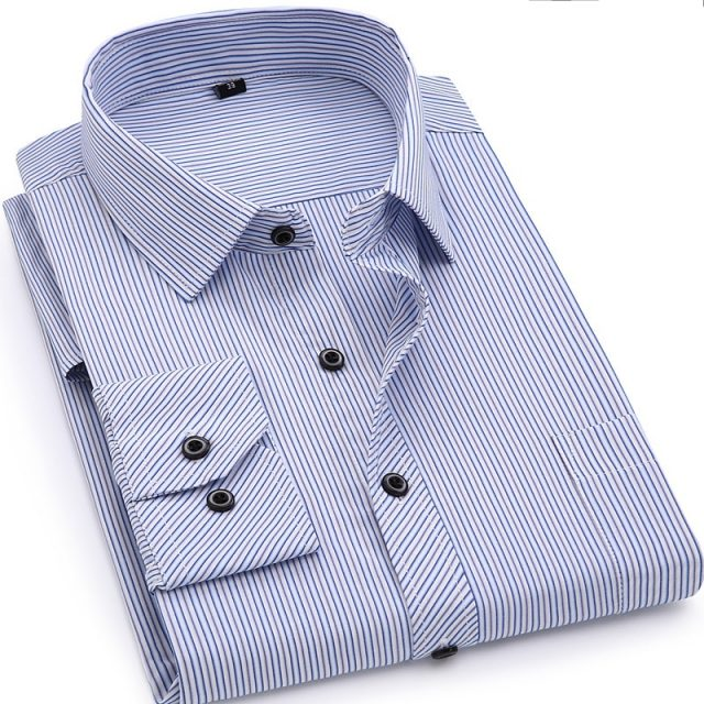 Business Casual Long Sleeved Shirt