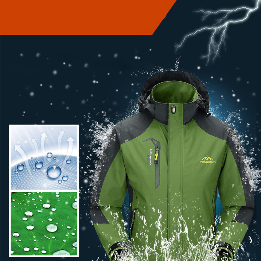 Waterproof Spring Hooded Coats