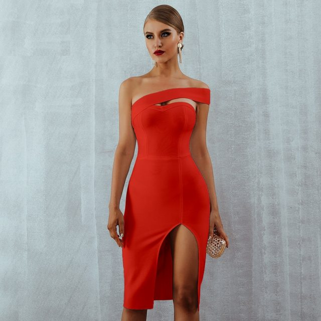 Adyce Bodycon Bandage Dress