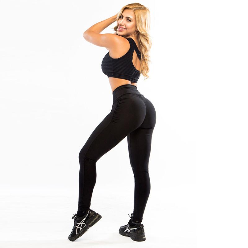 Women Push Up Leggings Polyester Fitness