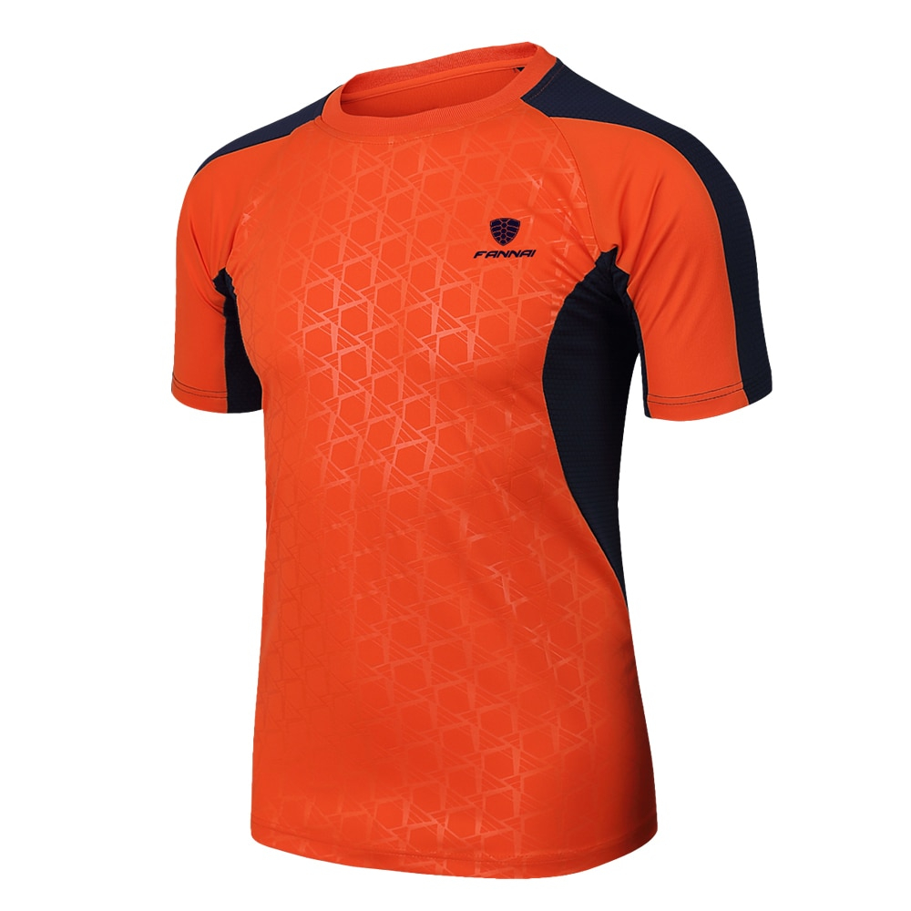 2019 New Arrive Men Short Sleeve Running Shirt