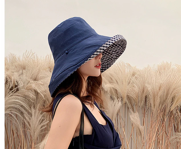 Elegant Women Summer Double-sided Sun Hat