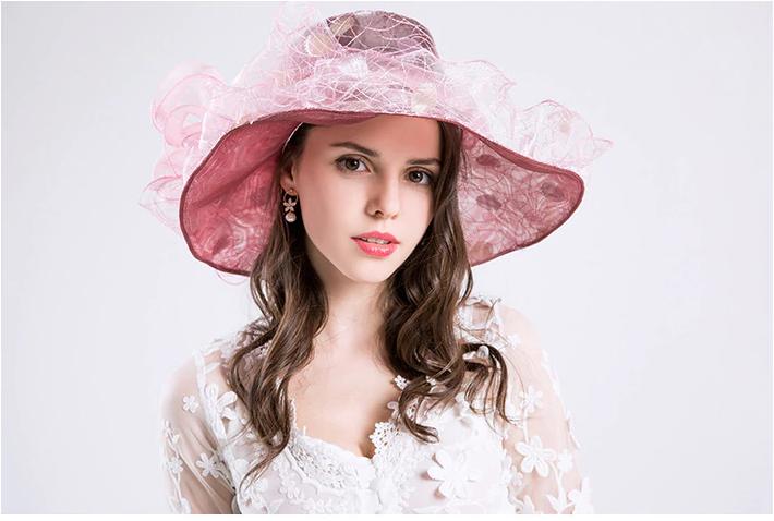 Function Embroidery Bird Nest Fashion Sun Hat